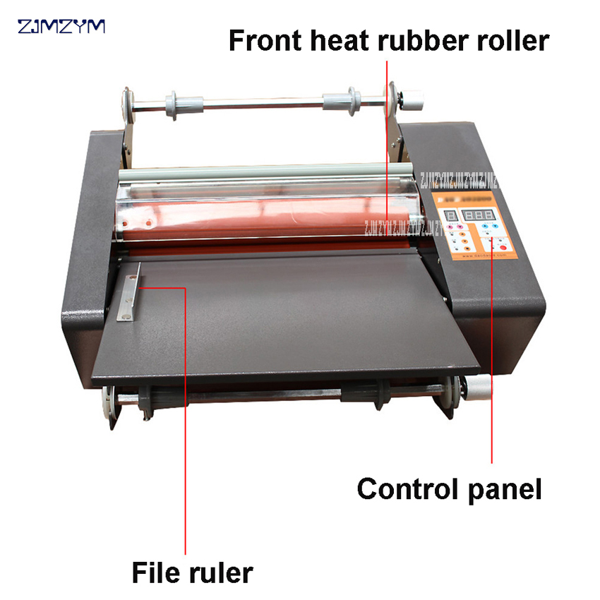 FM-380 popieriaus laminavimo mašina, studentų kortelė, darbuotojo - Biuro elektronika - Nuotrauka 3