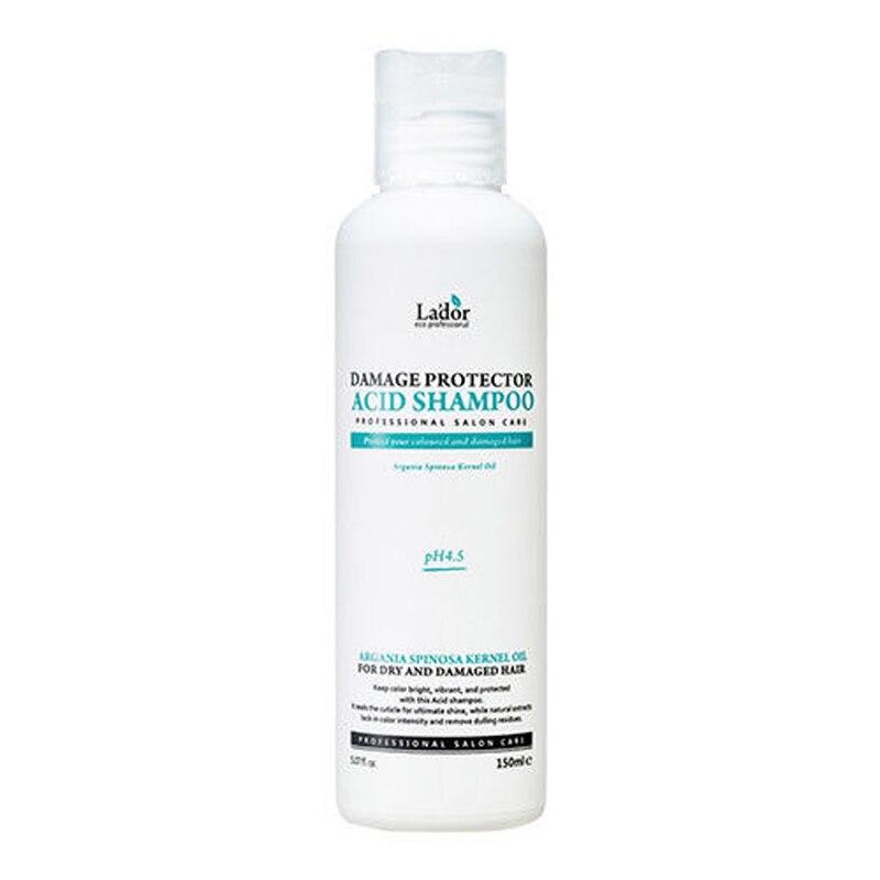 LADOR Damage Protector Acid Shampoo 150ml Keratin Hair Treatment Argan Oil Shampoo Protects Hair After Hair Dying Or Perm