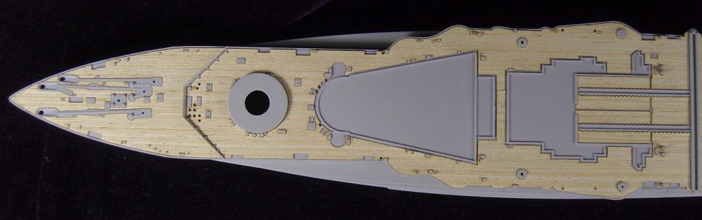 Trompettiste ARTWOX 05780 warspite HMS 1915 pont AW20087 en bois