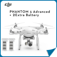 (In Store) DJI Phantom 3 Advanced + Extra Free 2 Battery Aerial RC Helicopter FPV Drone with Camera 4K HD Quadcopter Drone