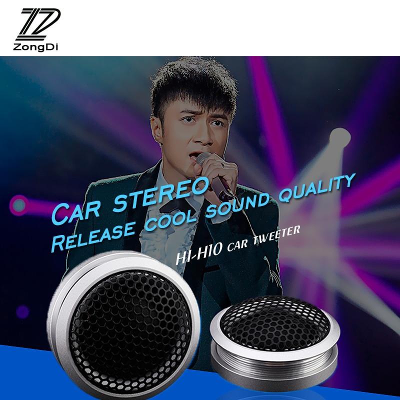 ZD 1Pair Car Audio Speaker Silk car tweeter Modified styling For Hyundai solaris i30 ix35 Mini