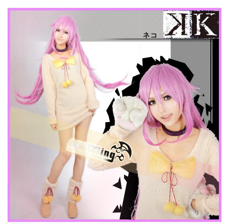Anime Project K NEKO CAT Cos Dress Cosplay Costume