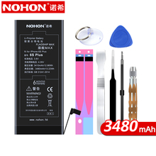 ФОТО NOHON Internal Li-Polymer Battery for iPhone 6s  3480mAh Max Capacity  Battery for Phone with Repair Tools Kit