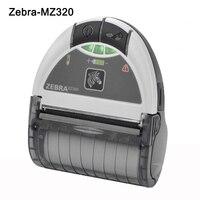 Zebra EZ320 мобильный штрих код принтер Bluetooth 80 мм переносной термопринтер Zebra Мини чековый принтер