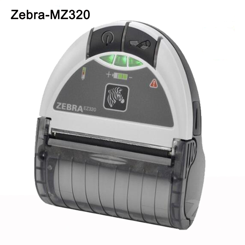 Zebra EZ320 Мобильді штрихкод Принтер Bluetooth 80mm Protable Thermal Label Printer Zebra Mini Receipt Printer