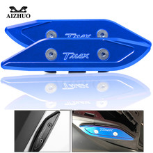 Motorcycle Accessories CNC Mirror Hole Cap Cover For Yamaha TMAX530 T-MAX 530 TMAX 530 2012 2013 2014 2015 2016 2017 motorcycle accessories parts for yamaha tmax 530 t max 530 tmax530 2012 2016 chain belt guard cover protector motorbike spare