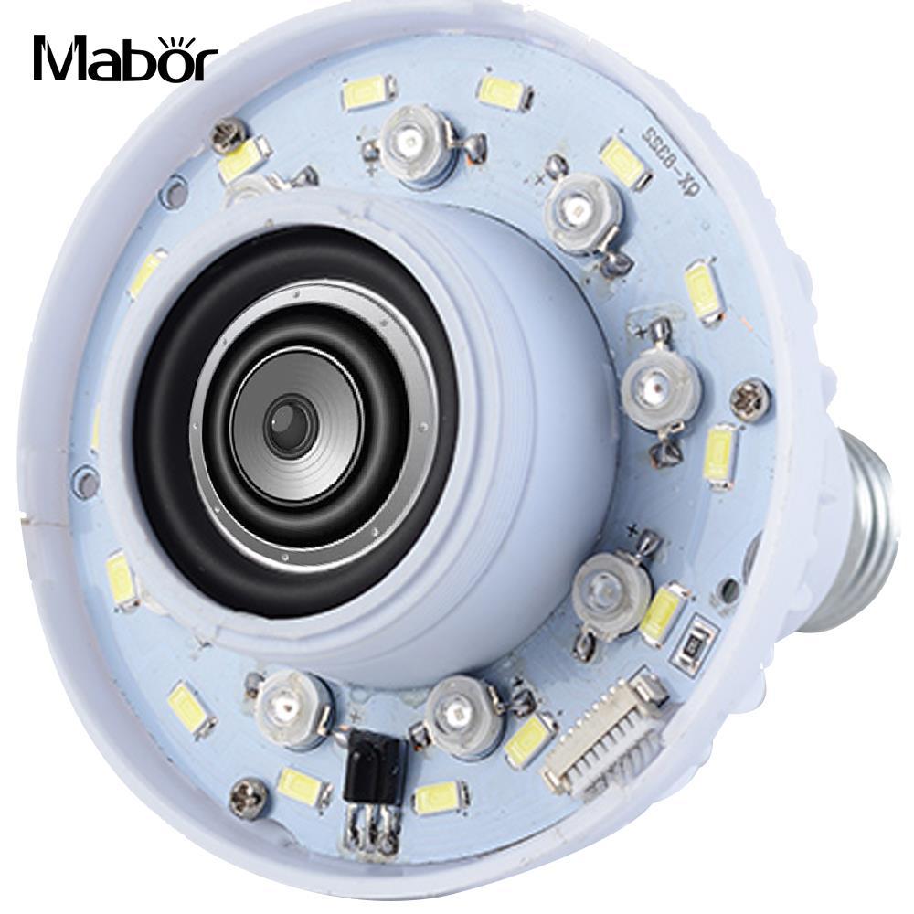 LED Music Bulb Home LED Loudspeaker Smart Bluetooth 4.0 Portable Gift KTV LED Speaker