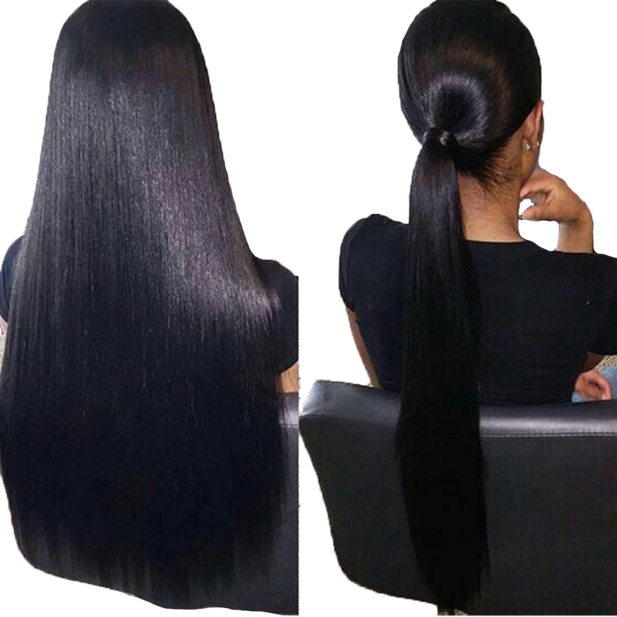 Remy Pre Plucked Full Lace Human Hair Wigs For Women Malaysian Long Straight Human Hair Wig Gossip Full Lace Wigs Glueless Wig