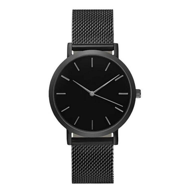 2018 New Fashion Women Crystal Stainless Steel Analog Quartz Wrist Watch Bracelet For Women Men Luxury Wristwatch