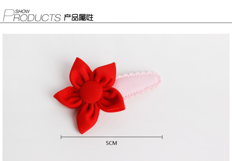 colorful butterfly flower hair clips red hairband happy new year hairpin hand made rim hair accessories hair bows in hair accessories from mother kids on