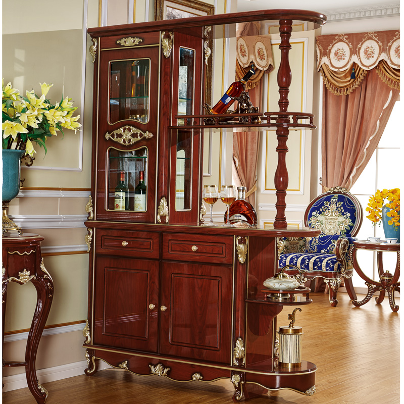 living room furniture partition cabinet home storage with ...