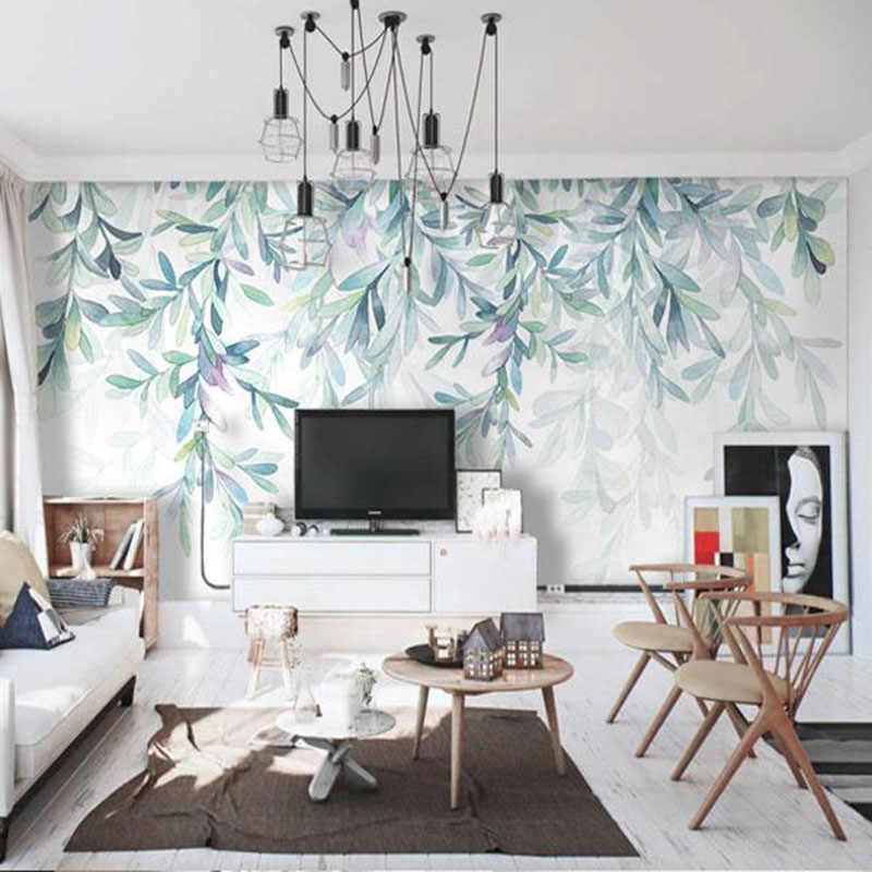 фотообои для гостиной в скандинавском стиле красивое таежное