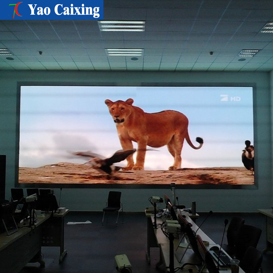 Synchonous Control Fixed Installation Of Display Full Color Video Wall SMD2121 HD Led Screen Indoor P4