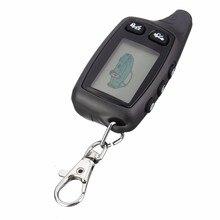 Remoto de 2 Vías LCD Para El Sistema de Alarma Del Coche de Dos Vías Tomahawk TW9030 Llavero Coche TW9020/TW-7010/TZ7010/TZ9020