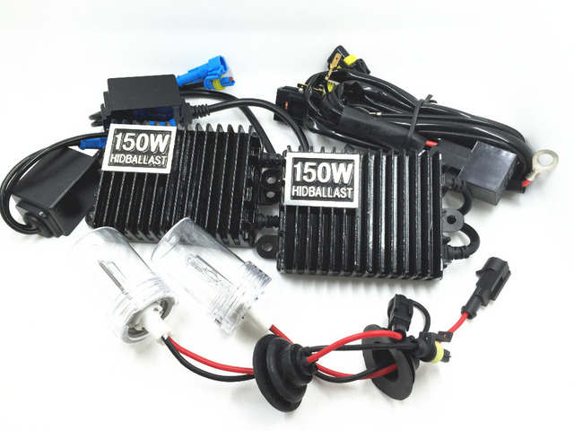 12 V AC 150 W H1 4300 K 6000 K 8000 K HID XENON KIT de Conversión de Reemplazo de Automóviles Faros Antiniebla DRL de la luz corriente de Conducción de Alta Potencia»