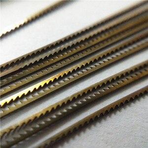 Image 2 - 12 قطع السويسرية انتقل مناشير ل قطع معدنية أدوات أدوات مجوهرات أنصال مناشير 130 ملليمتر طول اليد الحرفية