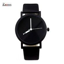 2016 diseño creativo reloj Enmex impermeable Cambiante especial número hora mano simple diseño de moda relojes de cuarzo