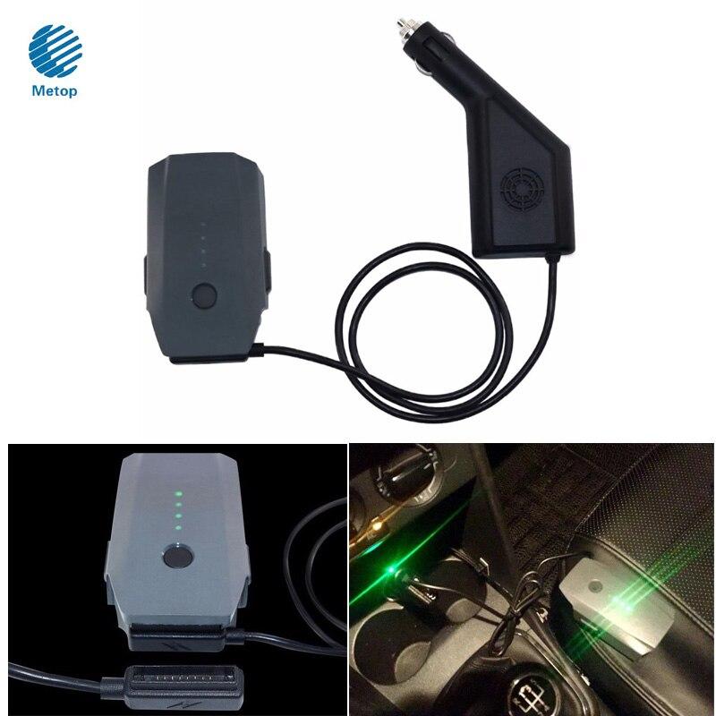 Dji Мавик <font><b>Pro</b></font>/платина интеллектуальные Батарея Зарядное устройство автомобиля Зарядное устройство 6a Выход со встроенным Детская безопасност&#8230;