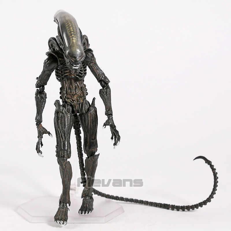 Takayuki Takeya FIGMA SP-108 Alien/SP-109 Predator 2 PVC Action Figure Collectible Model Mainan