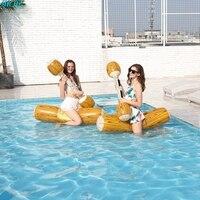 Canoa inflável Colchão de Ar de Água Piscina de diversões brinquedo de Férias de Verão Praia natação flutuador Unisex Esportes Aquáticos Natação Piscina Cadeira|Cadeiras de praia| |  -