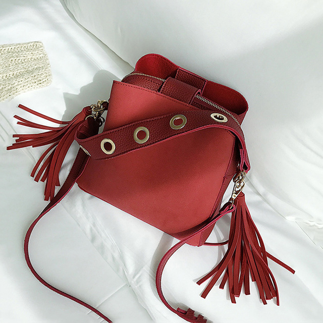 Buy Tassel Shoulder Bag Female Vintage Cross body Bags For Women