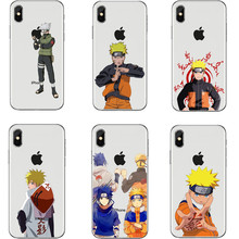 Anime Naruto Case For iPhone 5 5s SE 6 6s Plus 7 XR XS Max8 8Plus X 10