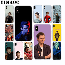 YIMAOC Tom Holland Spiderman Soft Silicone Case for Apple Iphone 11 Pro Xr Xs Max X 10 8 Plus 7 6S 6 SE 5S 5 7Plus 8Plus