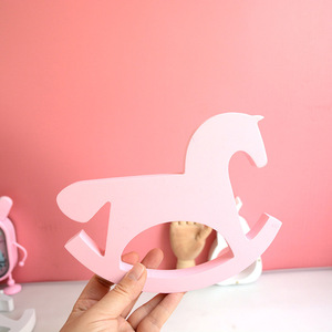 Image 5 - חדש עץ סוס צעצועי תינוק חדר תפאורה נורדי סגנון לחדר ילדים מתנות לילדים יום הולדת סקנדינבי דקור