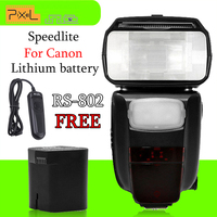 Newest Speedlite Pixel X900C X900 E TTL 2 4G HSS Wireless Multifunctional Flash Speedlight For Canon
