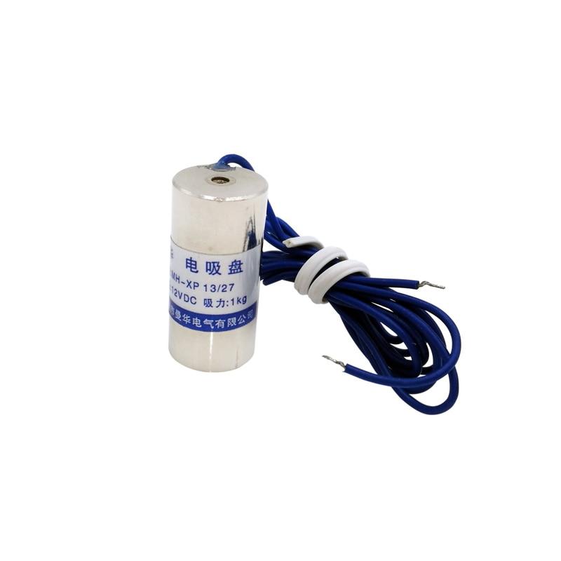 P13/27 Holding Electric Magnet Lifting DC6V 12V 24V 1Kg 10N Waterproof Electromagnet Solenoid siv120b 10n