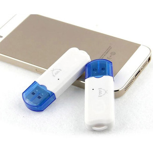 Image 4 - Mini Portable USB sans fil Bluetooth v2.1stéréo musique Audio récepteur adaptateur mains libres pour TV voiture haut parleur à la maison