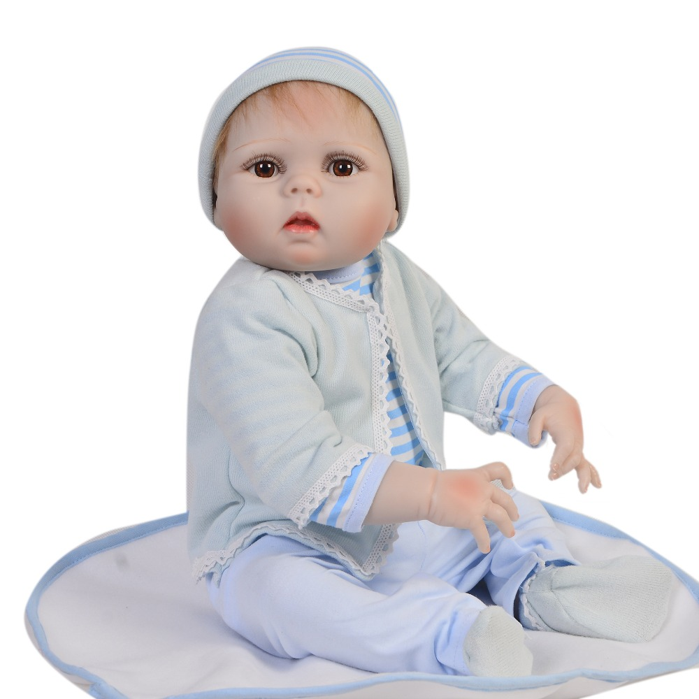 55cm full silicone reborn babies dolls bebe lol handmade bonecas lifelike bathe toddler adorable boy reborn Children Best Gifts55cm full silicone reborn babies dolls bebe lol handmade bonecas lifelike bathe toddler adorable boy reborn Children Best Gifts