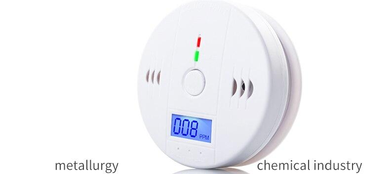 Promotion Price High Sensitive LCD Photoelectric Independent CO Gas Sensor Carbon Monoxide Poisoning Alarm Detector