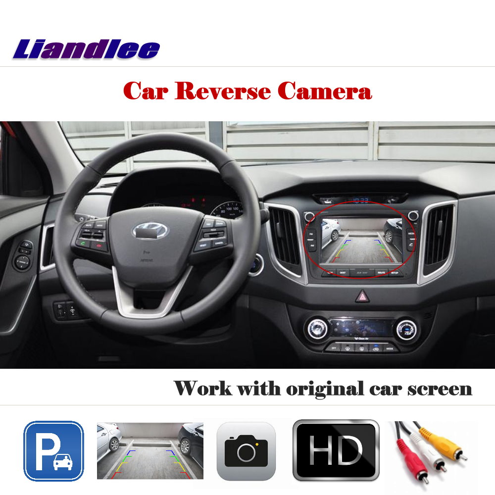Liandlee For Hyundai Creta ix25 Cantus 2015 2018 Auto Back Up Camera Rearview Parking Camera Work