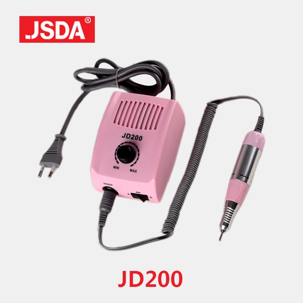 Clearance JSDA JD200 35W Professional Nail Drills Machine Electric Manicure Tools Pedicure Bit File Nails Art Equipment 30000rpm