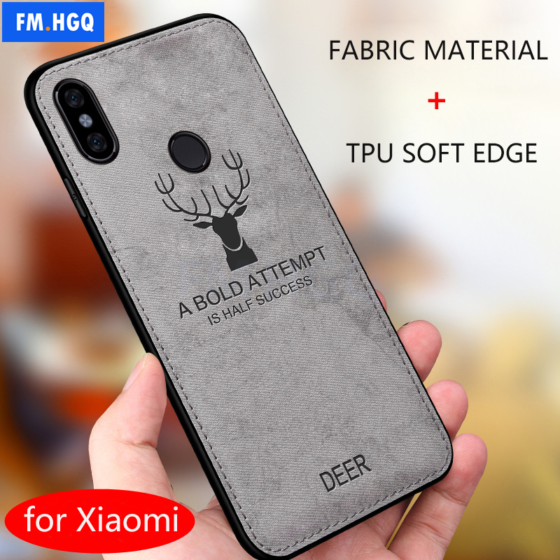Luxury Batman Christmas Deer Cloth Phone Cases For Xiaomi Redmi Note 5 Pro Ultra Thin Soft Silicone Cover For Redmi Note 5 Case