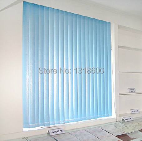Hot Selling Pvc Shade Blinds Louver Window Curtain