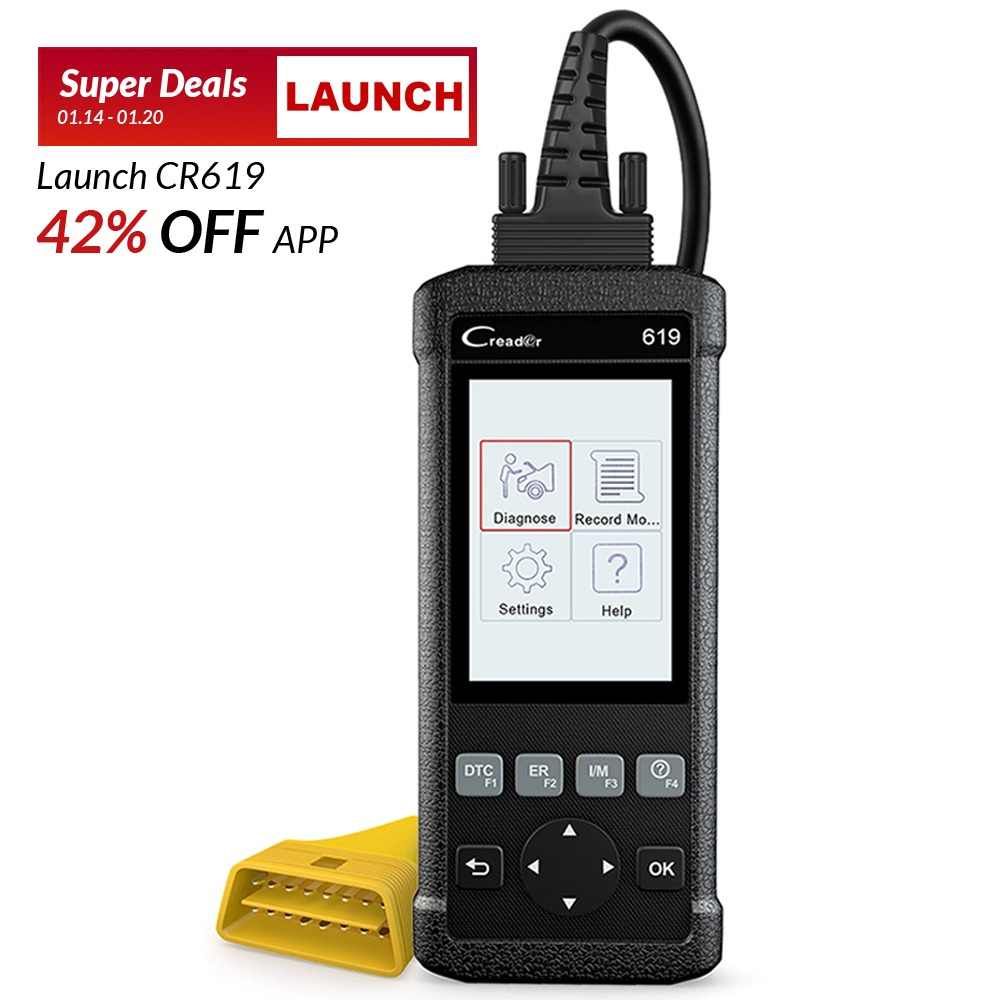 Detail Feedback Questions about Launch CR619 OBD OBD2 Auto