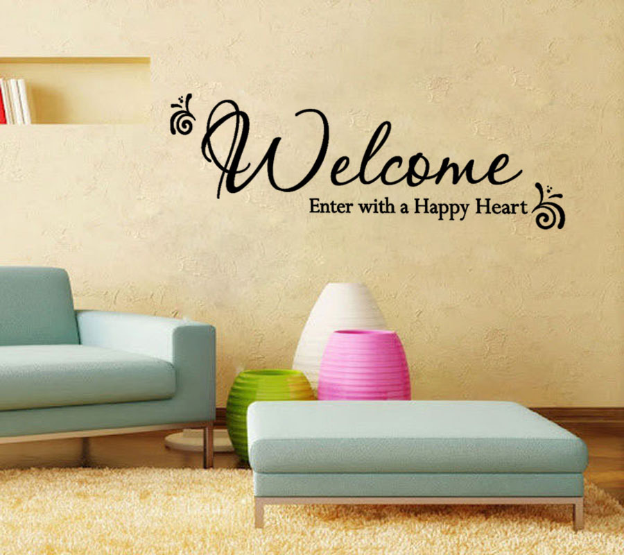 Fine Welcome Wall Art Adornment - Wall Art Collections ...