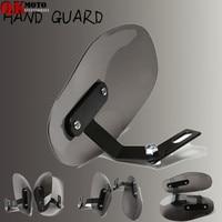 Clear Windshield Hand Guards Protector Wind Deflector Shield For YAMAHA XJR FJR 1300 1200 FZR 1000 TMAX 530 500 TMAX530 TMAX500