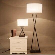 Простой торшер современный минималистичный свет для гостиной белый черный прикроватный светильник для спальни стоящая лампа гостиная прихожая арт-деко