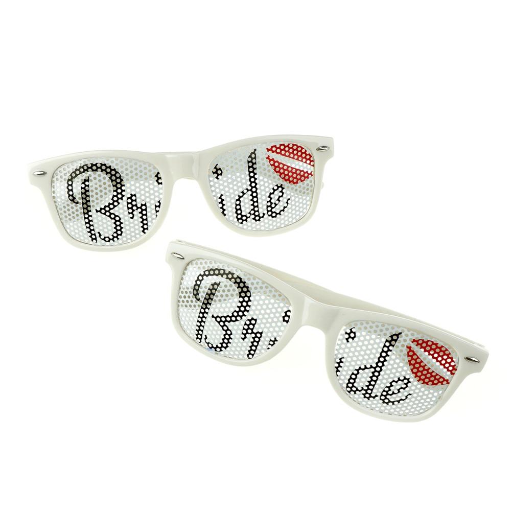 Novelty Groom Bride Glasses Bridal Shower Sunglasses