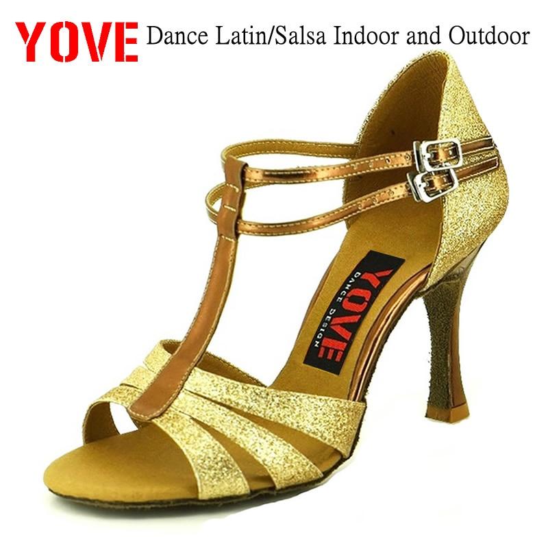 YOVE Style w136-6 Pantofi de dans Bachata / Salsa Pantofi de dans - Adidași