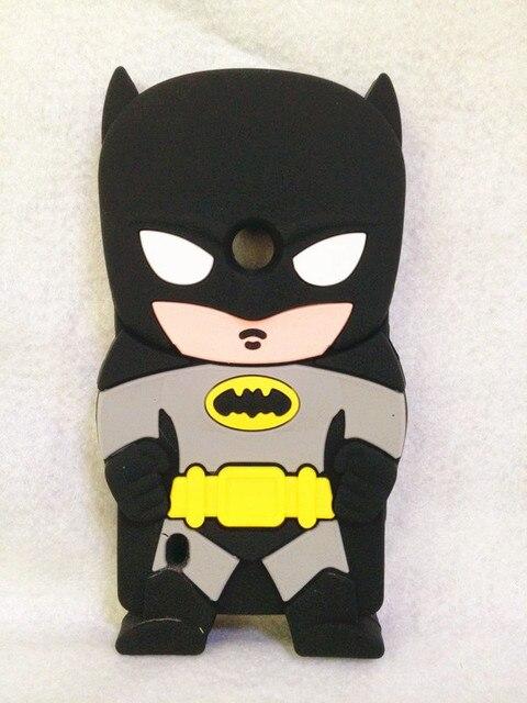 Lovely Fashion 3D Hero Batman Silicone Soft Case Cover For Nokia Lumia 520