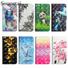 For Nokia 6 5 3 2 9 2018 Case Flip Wallet PU Leather Painted Cases For Nokia3.1 5.1 6.1 Plus 8.1 Cover with Stand Card Slot Capa kinston girl s back patterned flip open case w stand card slot for nokia lumia 520 4 3 white