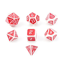 RPG Game Party Dice Entertainment Supplies D4 D6 D8 D10 D10 D12 D20 Dragon And Dungeon 7 Pieces / Set Of Role-playing Games цены онлайн