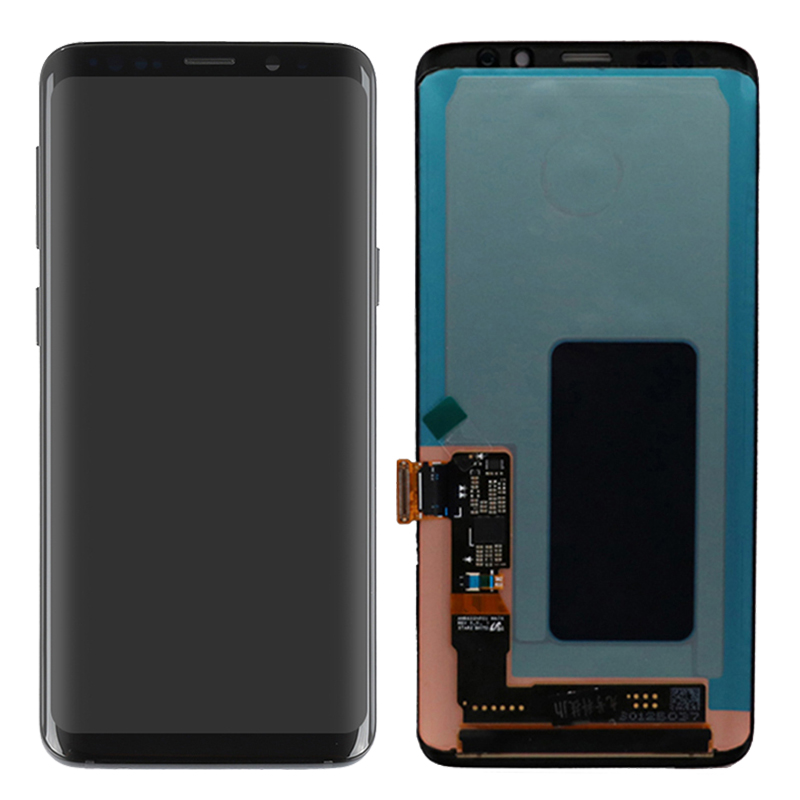 Original AMOLED S9 LCD For Samsung Galaxy S9 Plus LCD Display With Frame Touch Screen Assembly SM-G950F G955F LCD Screen