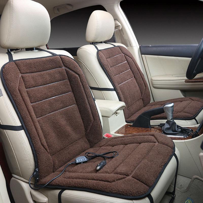 Car Heated Seat Cushion Hot Warmer Auto Cover 12V Heat