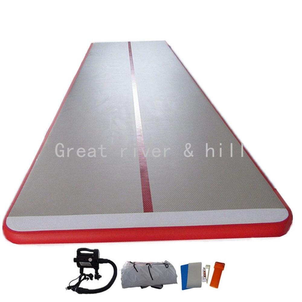 Экспресс-доставка Великие реки & Hill 5x1. 5 м x 20 см надувные воздушные тренажерный зал мат Air акробатика коврик с доставкой