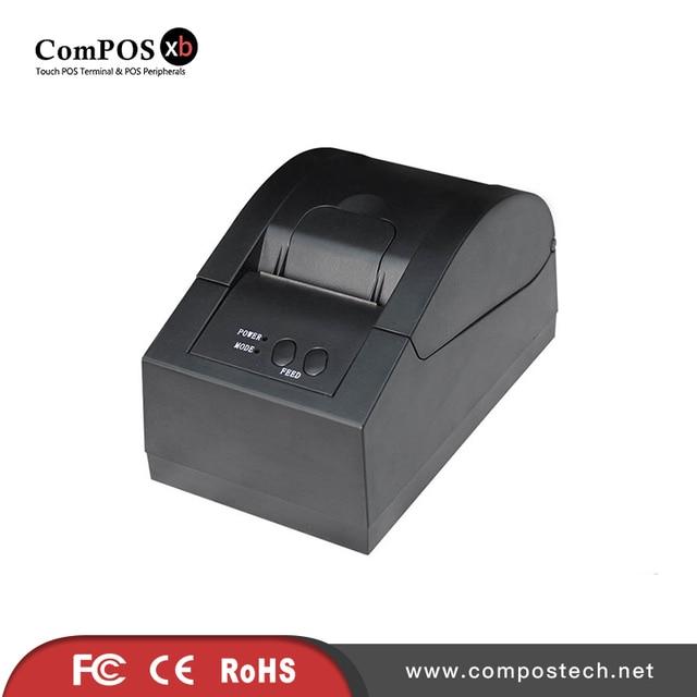 Imprimante thermique 58mm, livraison gratuite, petit reçu, haute résolution pour l'impression 1